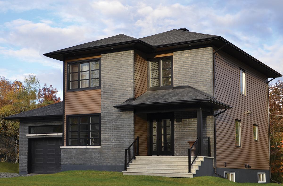Maison deux étages avec garage - Fuzion