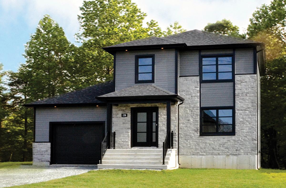 Maison deux étages avec garage - Énergy